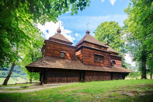 cerkiew w smolniku, powiat bieszczadzki
