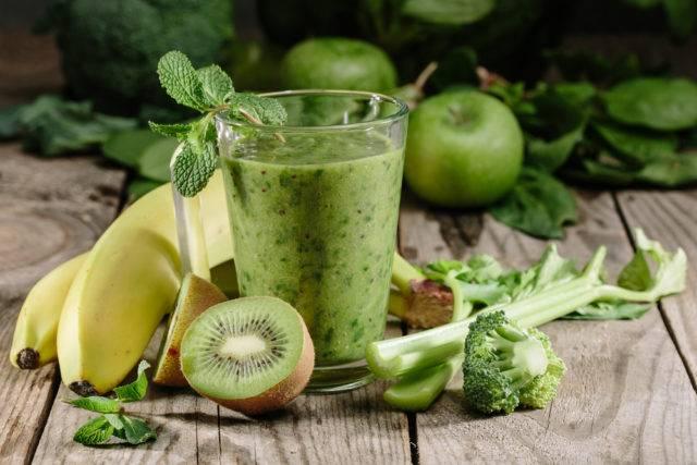 świeże soki z owoców i warzyw