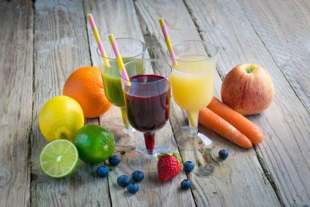 naturalne soki z owoców i warzyw
