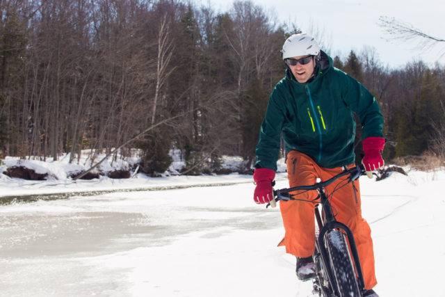 zimowe akcesoria na rower