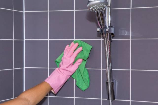 jak czyścić kabiny prysznicowe w domu