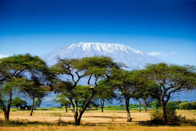 góra w Kenii