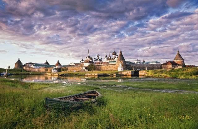 klasztor w Rosji