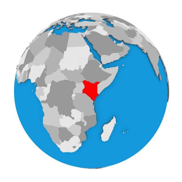 położenie Kenii