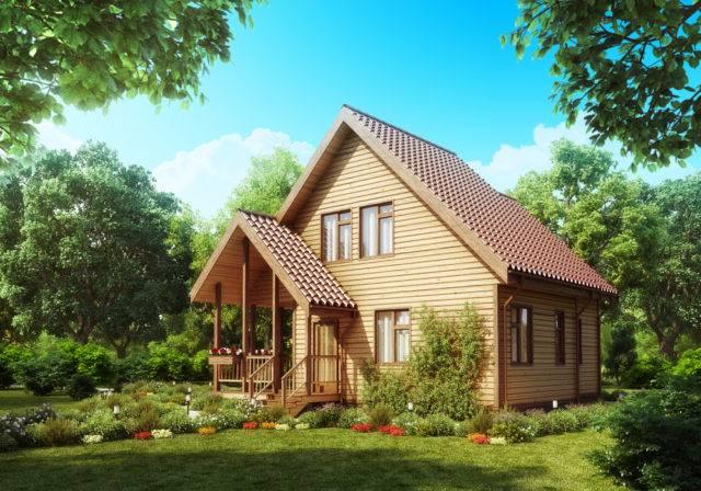 gotowy dom z drewna