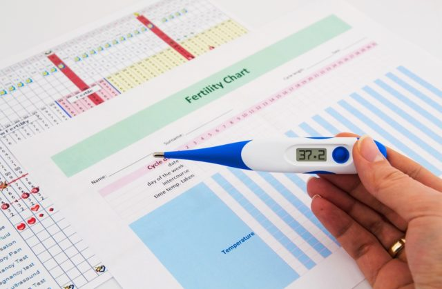 mierenie temperatury w dni płodne
