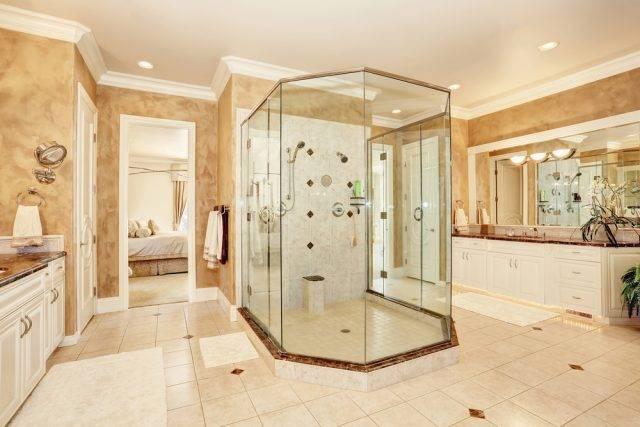 kształty kabin prysznicowych kabina pięciokątna