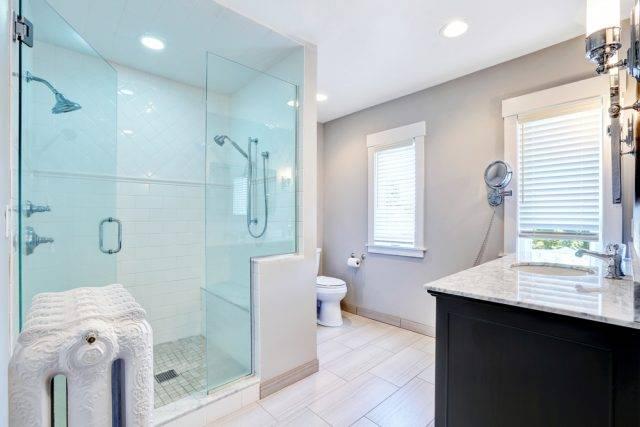 kształty kabin prysznicowych kabina walk in