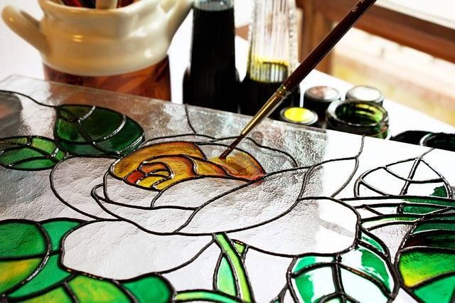 rodzaje szkła Szkło ornamentowe