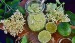 Lemoniada kwiatowa z kwiatów bzu