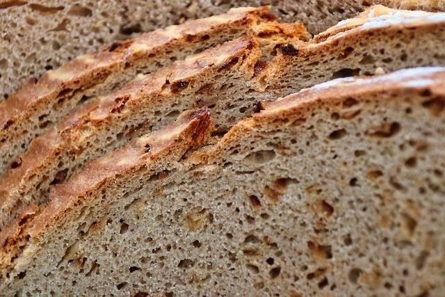 przepis na chleb na zakwasie - gotowy chleb