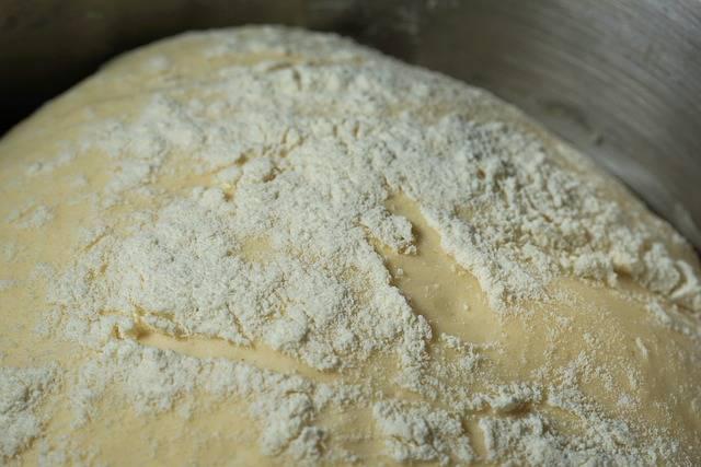 wyrośnięty chleb